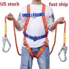 Outdoor Full Body Safety Rock Climbing Work Tree Rappelling Harness Seat Belt