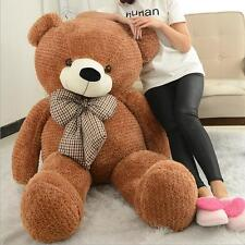 50in. Giant Large Big Valentine brown Teddy bear plush soft toys doll 130cm gift