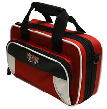 Gator Spirit Series Lightweight Clarinet Case White & Red   GL-CLARINET-WR