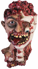 Rotted Zombie Creepy Cut Off Head Haunted House Prop Halloween Forum Novelties