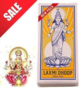 Laxmi Dhoop (Quick Dispatch from the UK) Pooja Incense - 8 Sticks Pack ⭐UK Stock