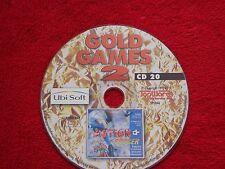 Action Soccer von Ubi Soft, Retro Kult Game für PC, aus Gold Games 2 Edition