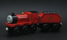 100% Original JAMES Thomas Friends The Train Wooden Tank Engine HC63C