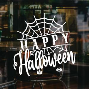 Halloween Window Sticker Shop Display Happy Halloween Decal Home Decoration