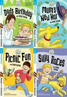 Read with Oxford Stage 1: Biff, Chip and Kipper 4 Books Collection set Picnic Fu