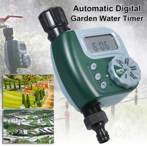 Faucet Timer Automatic Water 1Outlet Garden Sprinkler Irrigation Controller Hose