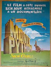 Affiche de cinéma : MONTY PYTHON : SACRE GRAAL de TERRY GILLIAM - TERRY JONES