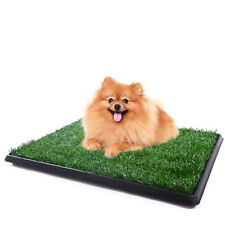 New listing Training Pee Indoor Toilet Puppy Pet Potty Dog Grass Pad Mat Turf Patch