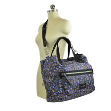 Marc Jacobs Garden Paisley Biker Baby Bag Purple Multi