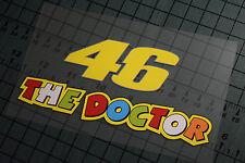 46 THE DOCTOR Sticker Decal Vinyl Moto GP Yamaha Valentino Rossi Motorcycle R1