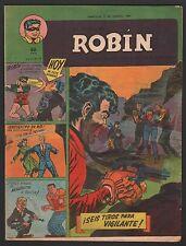 LA REVISTA DE ROBIN # 15 1951 - RARE Argentine Printed COMIC (Robin and Batman)