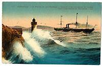 CPA 13 Bouches-du-Rhône Marseille  Le Phare de la Désirade Départ d'un courrier