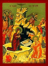 Geburt Jesus Ikone Maria Icon Icone Ikona Ikonen Icons NATIVITY OF JESUS CHRIST