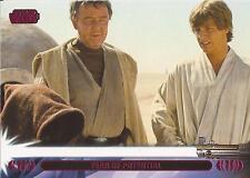 "Star Wars Jedi Legacy - Magenta Parallel Card 20L ""Keeps Luke on Tatooine"""
