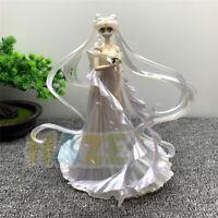 "Sailor Moon Tsukino Usagi Wedding Dress Ver. 10"" PVC Action Figure Model Toy"