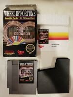 Wheel Of Fortune Complete NES Nintendo CIB Game Original VG FREE S/H