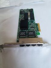 Intel 4 port Gigabit Network Card / Quad port NIC PCI-E full size bracket 0HM9JY