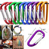 3X Ideal Aluminum EDC Carabiner D-Ring Key Chain Clips Hook Outdoor Buckle Gears