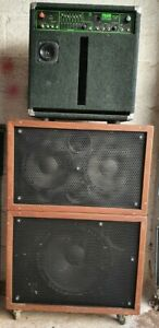 Trace Elliot Bass Amp GP7 SM 150w 1x10 Combo with 2x10 And 1x15 Slave Cabs