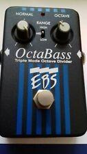 EBS OctaBass Black Label OVP Triple Mode Octave Divider