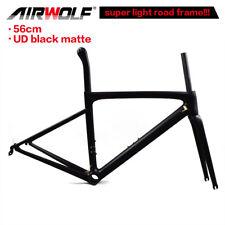 Super light Carbon-Rennradrahmen 56cm fahrradrahmen frameset UD schwarz matt