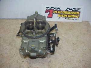 Braswell Holley HP 830 CFM Annular Boosters Gas Racing Carburetor NASCAR  DEI33
