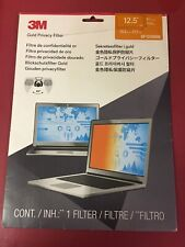 "Gold Privacy Filter for 12.5"" Widescreen Laptop GF125E9B  #1 New Open Box."