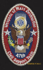 47TH WEAPONS OF MASS MANHATTAN PROJECT HAT PATCH ATOMIC BOMB US ARMY WMD-CST