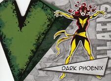 UPPER DECK MARVEL BEGINNINGS III 3 VILLAIN DIE-CUT CARD V-7 DARK PHOENIX