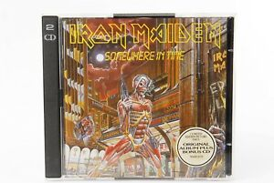IRON MAIDEN SOMEWHERE IN TIME JAPAN CD CP32 5158 F/S