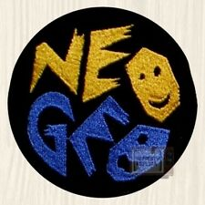 NEO GEO Logo Embroidered Big Patch Vintage Videogame Console Arcade Fatal Fury