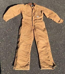 Carhartt Beige 38 Men's Lined Boiler Suit