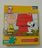 Charlie Brown and Snoopy Buffalo 300 Piece Jigsaw Puzzle Peanuts Mosaic