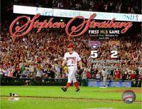 "Stephen Strasburg Washington Nationals First MLB Game Photo (Size: 8"" x 10"")"