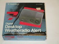 Desktop Weatheradio Alert NOAA Radio Shack Weather Radio 7 Channel