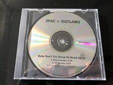 2Pac & Outlawz- Baby Don't Cry - Keep Ya Head Up II - 1999 US 2 Track Promo CD