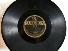 """1909 Columbia Graphophone Record-Prince's Band-""""Natl Emblem March""""/Wash Grays"""