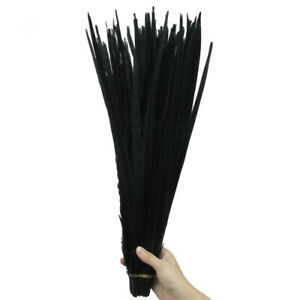 High Quality 10-100pcs 40-45cm16-18inch Natural Pheasant Tail Feathers