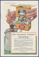 Vintage 1918 JAFFEE Meal-Time Drink Beech-Nut Kitchen Coffee Ephemera Print Ad