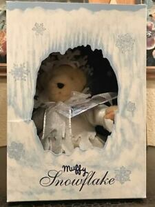 """Muffy VanderBear Dressed As A Snowflake, Special LTD Edition For The Year """"1993"""""""