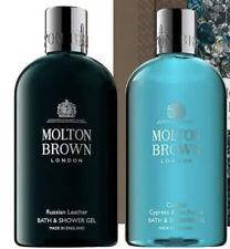 Molton Brown Russian Leather & Coastal Cypress Sea Fennel Body Wash Set 300ml