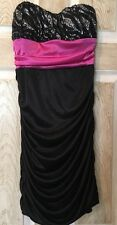 Dress, Junior's Speechless SIZE M, Black, Hot Pink, Zebra, Sequin, Tight