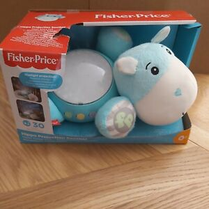Fisher Price Hippo Projector Soother Nightlight Musical *New With Damaged Box*