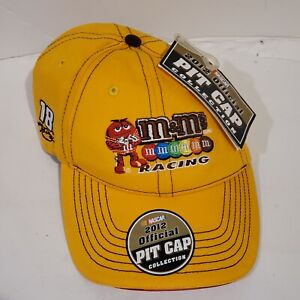 M&M RACING NASCAR Kyle Busch 18 Yellow New 2012 Official Pit Cap