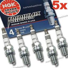 5 x Volvo NGK Iridium IX Spark Plugs 2.5L / T5 R C30 C70 S40 S60 Repl: 30650379