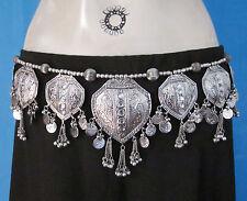 Metal Fringe Coin Belt BellyDance Boho Gypsy Hippie Tribal Festival Jewelry Gift