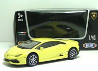 Bburago 30290 Lamborghini HURACAN - Gialla  ++ METAL Scala 1:43