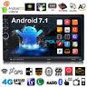 7'' Quad Core Android 2 Din Autoradio Bluetooth GPS Navigation 7.1 3G WIFI MP5