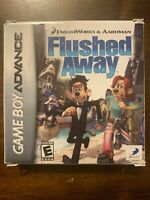 FLUSHED AWAY - GAMEBOY ADVANCE - COMPLETE W/ MANUAL -FREE S/H - (B39A)