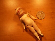 Antique Dolls kleine Puppe comic komik Porzellan Puppe dollhouse 1900 Germany